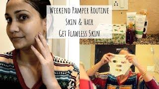 Weekend Pamper Routine | Skin & Hair | Summer 2019 | Nidhi Katiyar