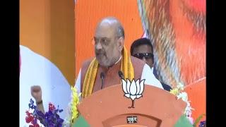 Shri Amit Shah addresses Booth Karyakarta Sammelan in Raipur, Chhattisgarh.