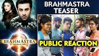 Brahmastra Teaser | PUBLIC REACTION | Ranbir Kapoor, Alia Bhatt, Amitabh Bachchan