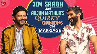 Jim Sarbh & Arjun Mathur have a quirky take on Marriages