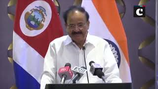 India-Costa Rica should engage more deeply with each other: Venkaiah Naidu
