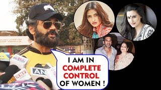 Suniel Shetty Praises Womens IN His Life | Womens day Special