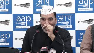AAP Has asked from Cong & BJP Their Stand on Full Statehood. If they dont reply we will do Protest