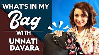 Whats In My Bag With Manikarnika Actress Unnati Davara