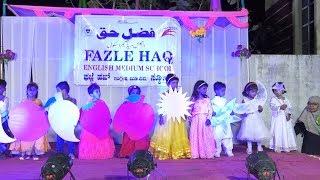Annual Day Celebration Fazle Haq English Medium School Gulbarga