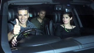 Akshay Kumar Takes His Wife Twinkle Khanna On Dinner Date At Soho House