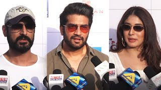 Mohit Raina Sharad Kelkar And Kritika Kamra At Mukka Maar's Women's Day Celebration 2019