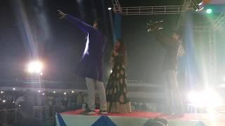 लगाई दिही चोलिया के हुक राजाजी  पर अरविन्द अकेला कल्लू और अंजना सिंह लाइव स्टेज शो - Live stage Show
