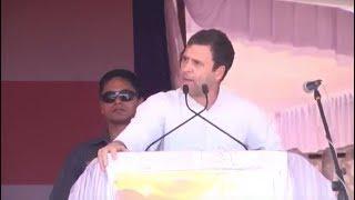 LIVE- Congress President Rahul Gandhi addresses public meeting in Haveri, Karnataka