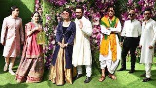 Bollywood Celebs At Akash Ambani-Shloka Mehta Wedding