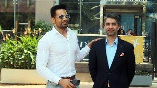 Upen Patel Spotted At Yauatcha Restaurant Along With Olympic Gold Medalist Abhinav Bandra