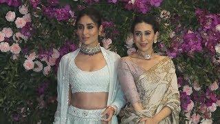 Gorgeous Kareena Kapoor And Karisma Kapoor At Akash Ambani-Shloka Mehta Wedding