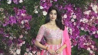 Beautiful Janvhi Kapoor At Akash Ambani-Shloka Mehta Wedding