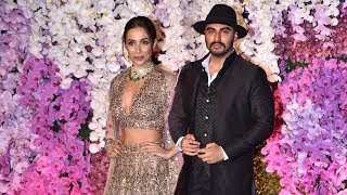 Love Birds Malaika Arora And Arjun Kapoor At Akash Ambani And Sholka Mehta Wedding Reception