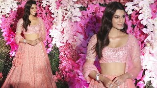 Gorgeous Kirti Sanon At Akash Ambani And Sholka Mehta Wedding Reception