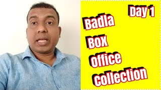 Badla Movie Box Office Collection Day 1