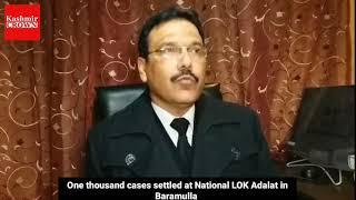 National LOK Adalat Held in Baramulla