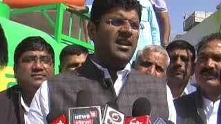 भाजपा केवल जीत का दावा करती है, हमें चुनाव का इंतजार - दुष्यंत