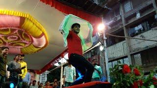 """LIVE DANCE - कृष्ण जन्माष्टमी के दिन मुम्बई में कल्लु ने किया जबरदस्त देहाती डांस,""""मइहर से सजनवा"""""""