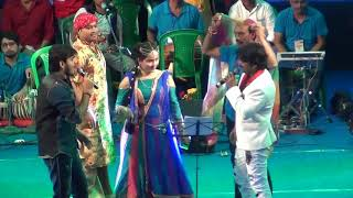 #Pawan_Singh और #Kallu का जबरदस्त #Dance_Show - चोलियो में अटकल परान - Bhojpuri Stage Show 2018
