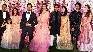 Bollywood Celebs At Akash Ambani And Sholka Mehta Wedding Reception | FULL VIDEO