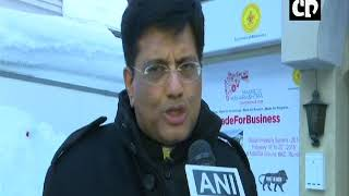 WEF 2018 - Piyush Goyal says Huge Appetite for Further Global Investments in India
