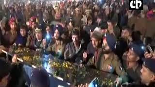 Funeral of Kapil Kundu, Army Captain killed in Kashmir