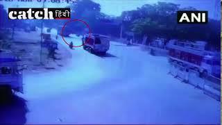 मध्य प्रदेश के भिंड में पत्रकार को ट्रक से कुचला, वारदात CCTV में कैद