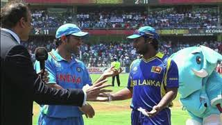 Cricket World Cup 2011: Did you know! The coin was tossed twice over confusion