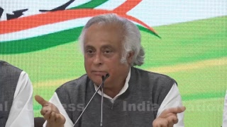 LIVE: AICC Press briefing by Shri Jairam Ramesh, and Prof Rajeev Gowda at Congress HQ