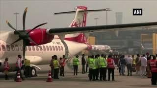 Suresh Prabhu Inaugurates Flight from Delhi to Pathankot