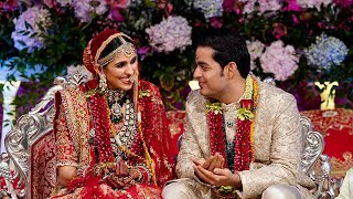 Akash Ambani-Shloka take 'pheras', Mrs Mehta gets emotional