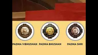 President Ram Nath Kovind confers Padma awards on 47 prominent personalities