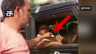 रिश्वतखोर पुलिस कर्मियों का रिश्व्त लेते वीडियो हुआ वायरल |