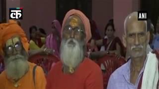 यूपी के मुख्यमंत्री आदित्यनाथ का गोरखपुर में जनता दरबार