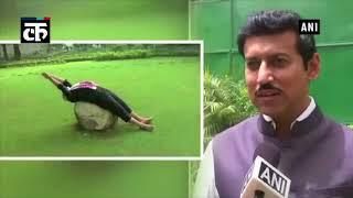 मोदी का फिटनेस वीडियो सकारात्मक, गैर-राजनीतिक है: राज्यवर्धन राठौर
