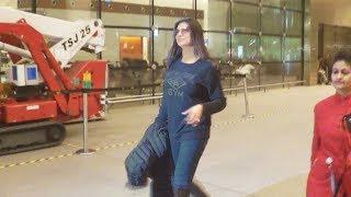 Dashing Sushmita Sen Spotted At Mumbai Airport