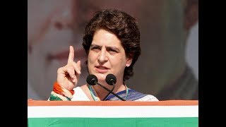 Smt. Priyanka Gandhi Vadra addresses Jan Sankalp Rally in Gandhinagar, Gujarat