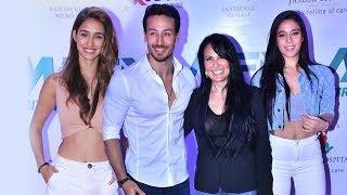 Tiger Shroff Girlfriend Disha Patani Sister Krishna And Mother At Matrix Fight Night Launch