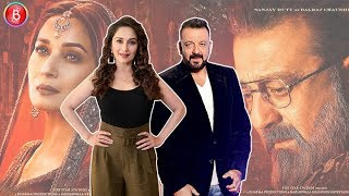 Ex-Lovers Sanjay Dutt & Madhuri Dixit Back Together For 'Kalank'