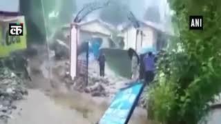 मसूरी और उत्तराखंड में घुसा नदियों का पानी