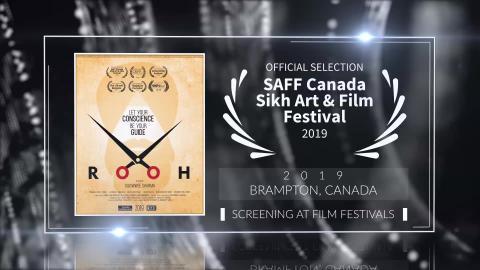 Rooh - Official Selection - SAFF Canada Sikh Art & Film Festival 2019 (Brampton) | RFE