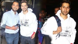 KALANK Zafar Akka Varun Dhawan Spotted At Mumbai Airport