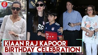 Karisma Kapoor Son Kiaan Raj Kapoor Birthday Celebration | Malaika Arora, Amrita Arora