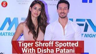 Tiger Shroff With Girlfriend Disha Patani SPOTTED At MATRIX Fight Night Event