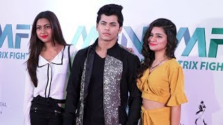 Aladdin Naam Toh Suna Hoga Star Avneet Kaur & Siddharth Nigam At Matrix Fight Night Launch
