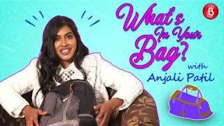 Whats In Your Bag Anjali Patil Shows Off Her WEIRD Personal Possesions