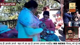 नैना देवी में स्वास्थ्य विभाग ने स्थानीय लोगों और श्रद्धालुओं के बच्चों को पिलाई पोलियो ड्रॉप्स