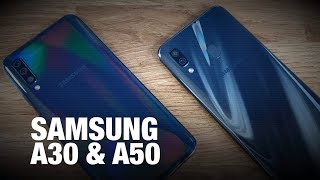 Samsung Galaxy A30, A50- Premium flagship features in mid-range | Unboxing & First Impressions