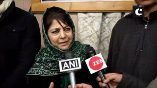Didn't form PDP-BJP coalition govt with closed eyes, had agenda: Mehbooba Mufti